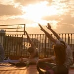 Rooftop Yoga season Starts, next Solstice 21st March