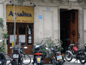 Amaltea healthy restaurants Barcelona
