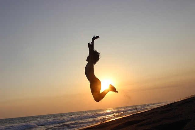 sunset jump in ibiza